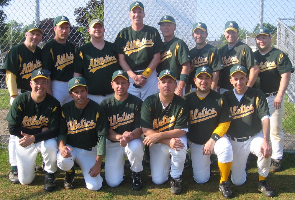 2008 Athletics team picture
