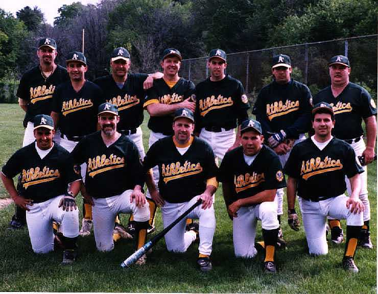 1998 Athletics team picture