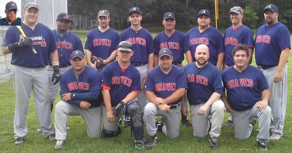 2014 Braves team picture
