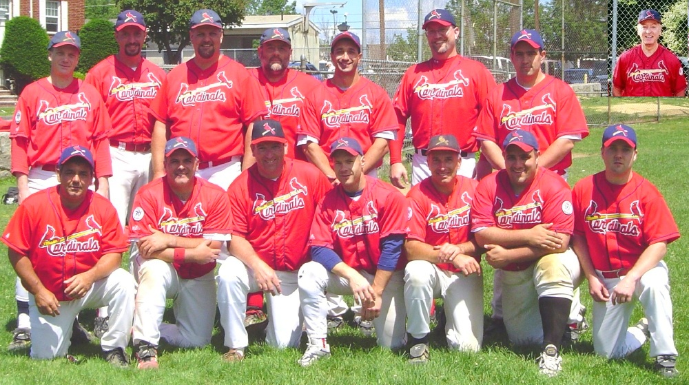 2004 Cardinals team picture
