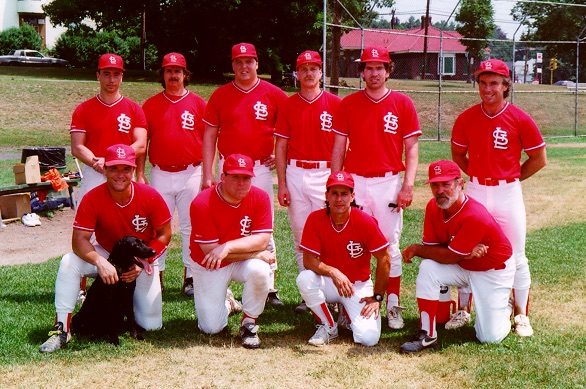 1995 Cardinals team picture