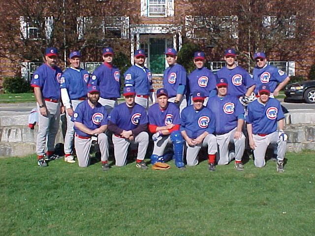 2001 Cubs team picture