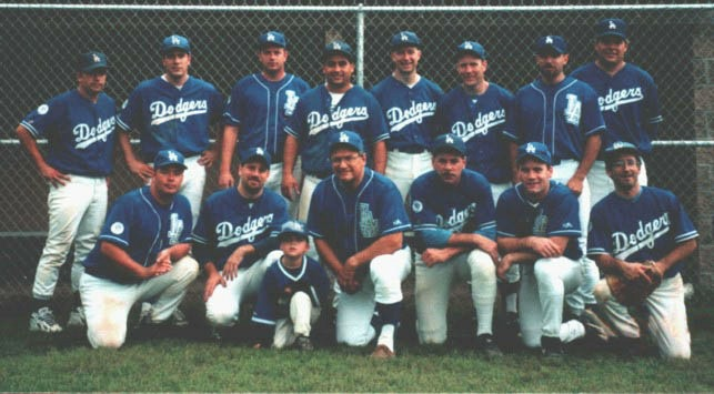 2000 Dodgers team picture