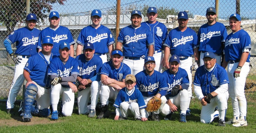 2003 Dodgers team picture