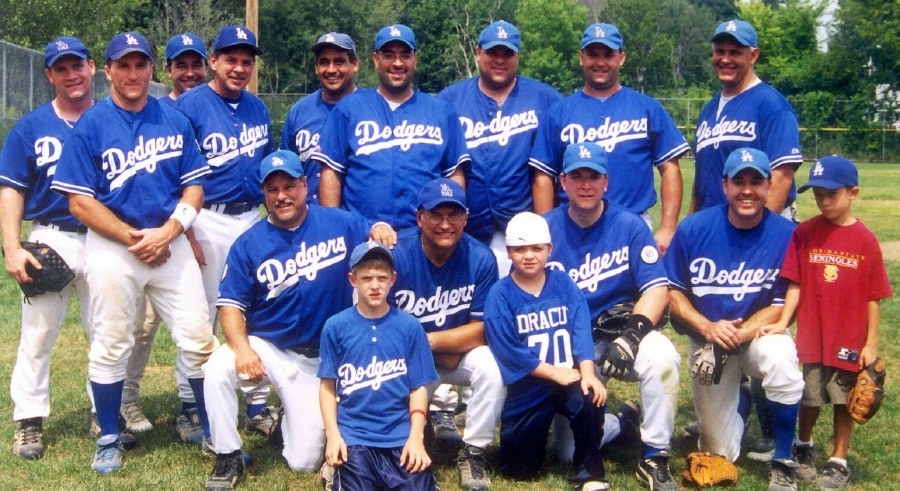 2005 Dodgers team picture