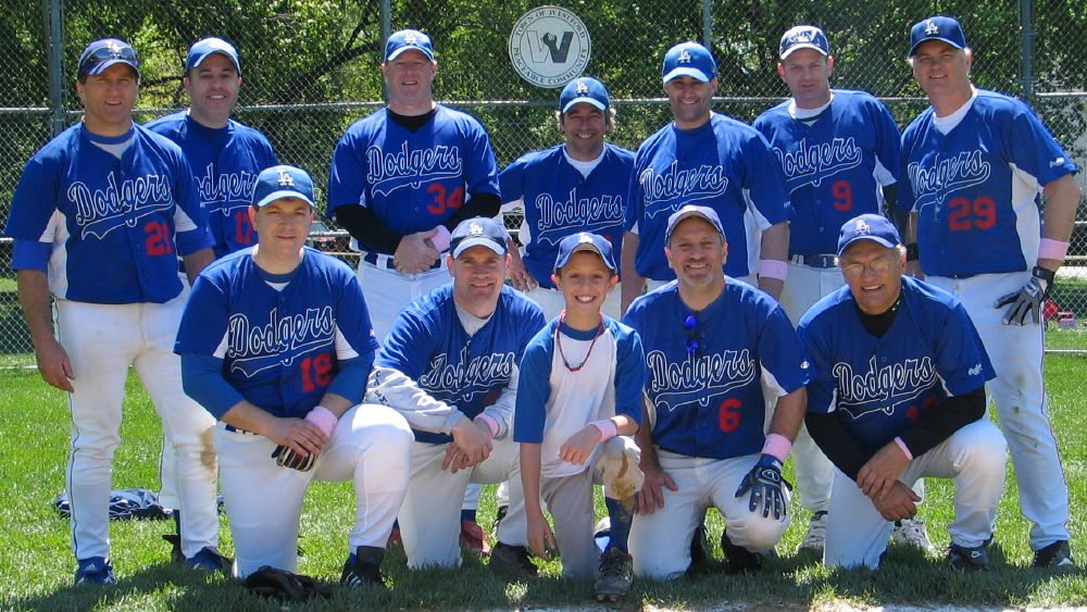 2009 Dodgers team picture