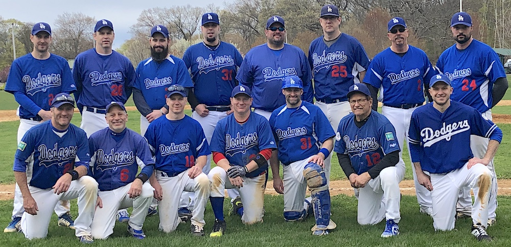2019 Dodgers team picture
