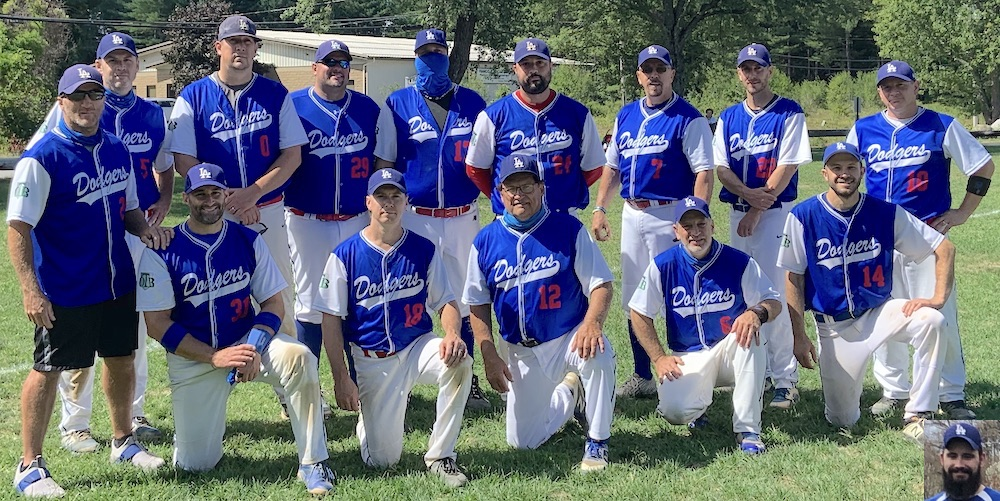 2020 Dodgers team picture