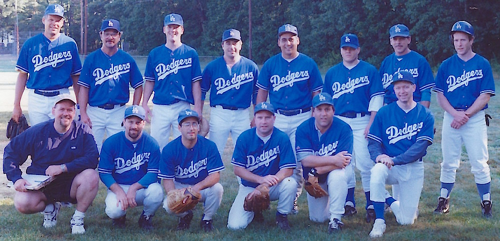 1998 Dodgers team picture