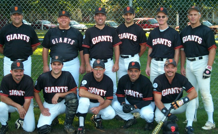 2000 Giants team picture