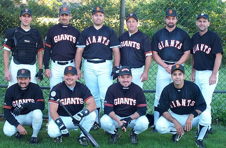 2001 Giants team picture