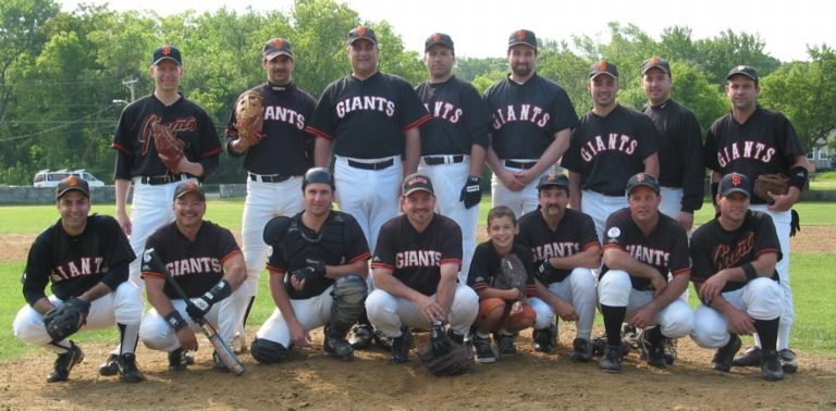 2002 Giants team picture