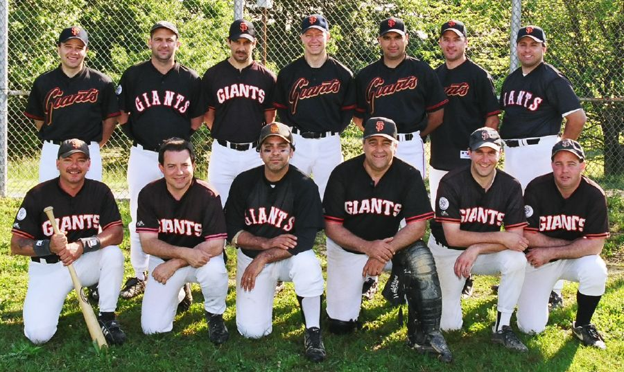 2003 Giants team picture