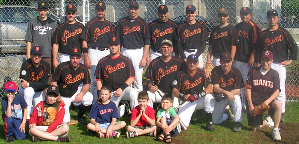 2008 Giants team picture