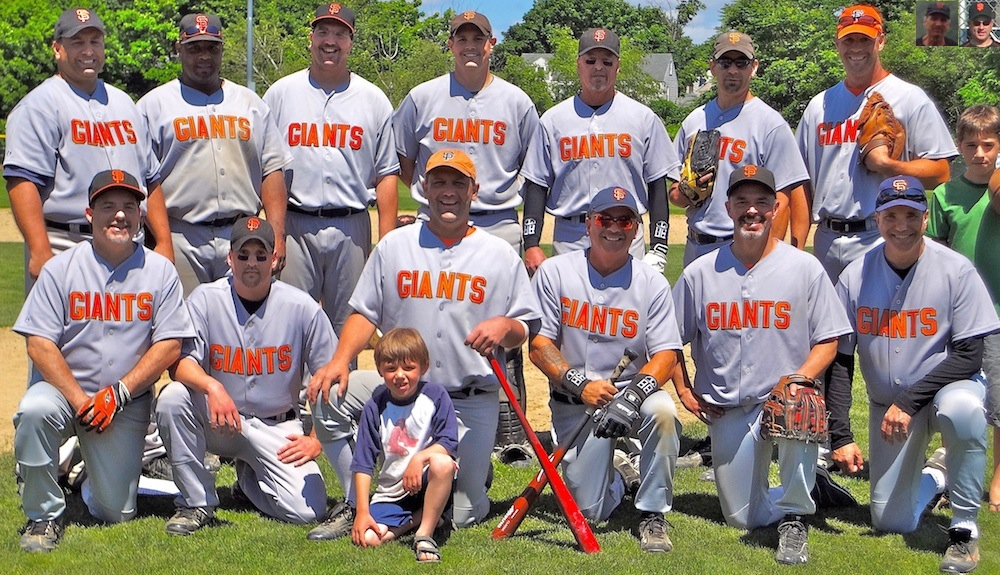 2012 Giants team picture