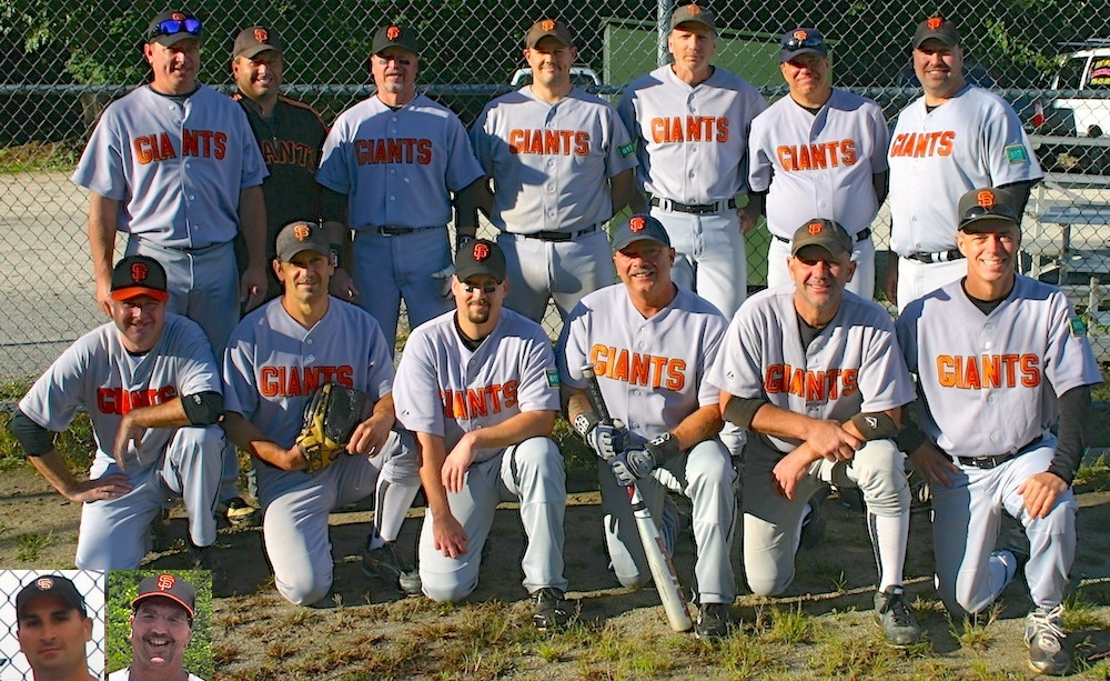 2013 Giants team picture