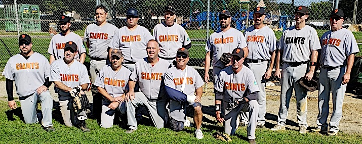 2018 Giants team picture