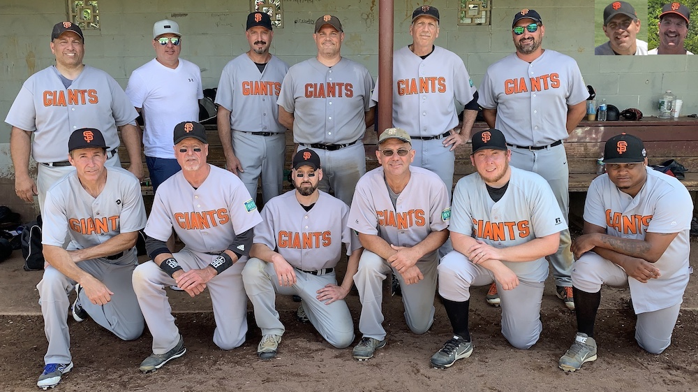 2019 Giants team picture
