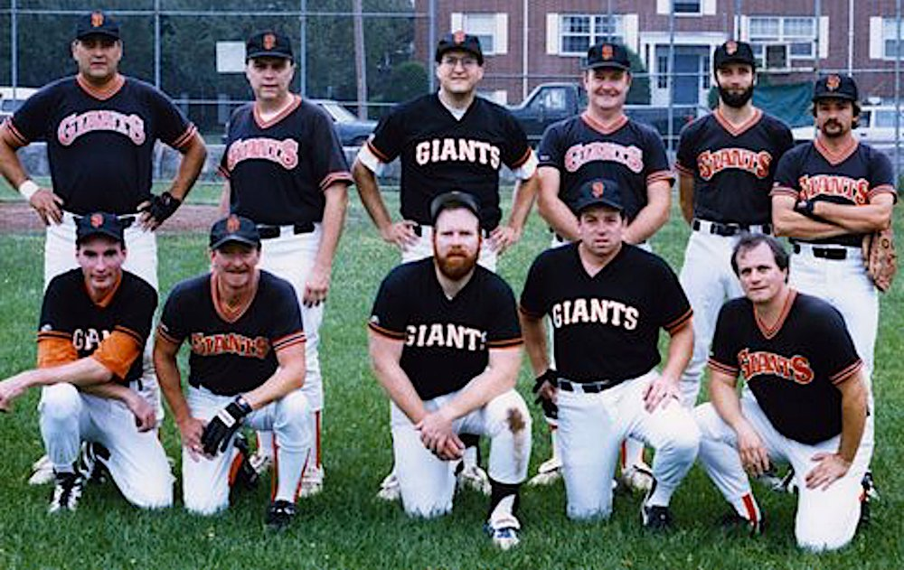 1995 Giants team picture