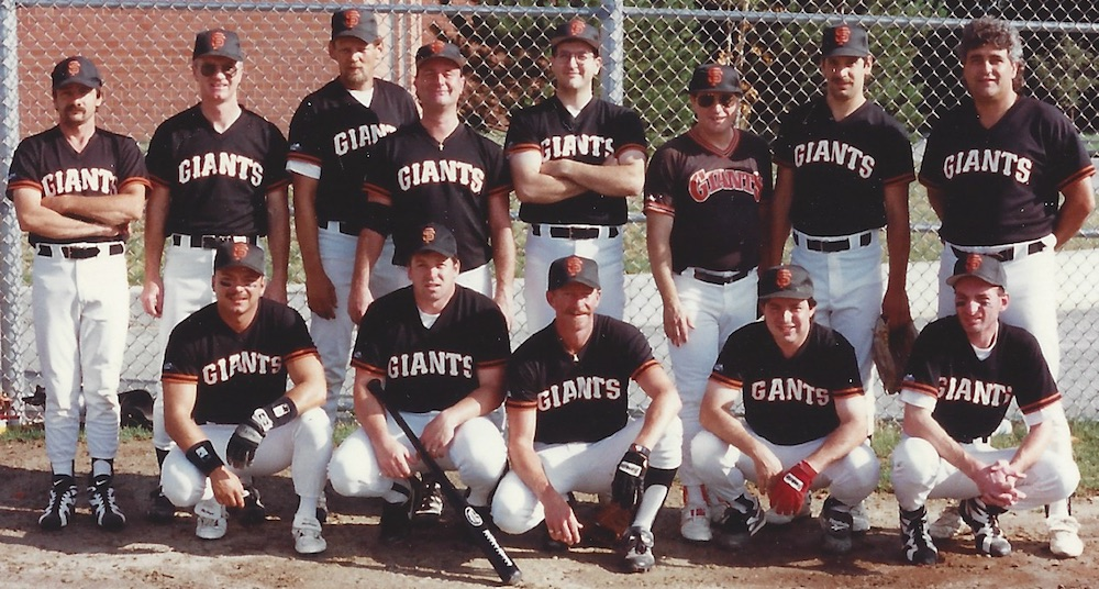 1996 Giants team picture