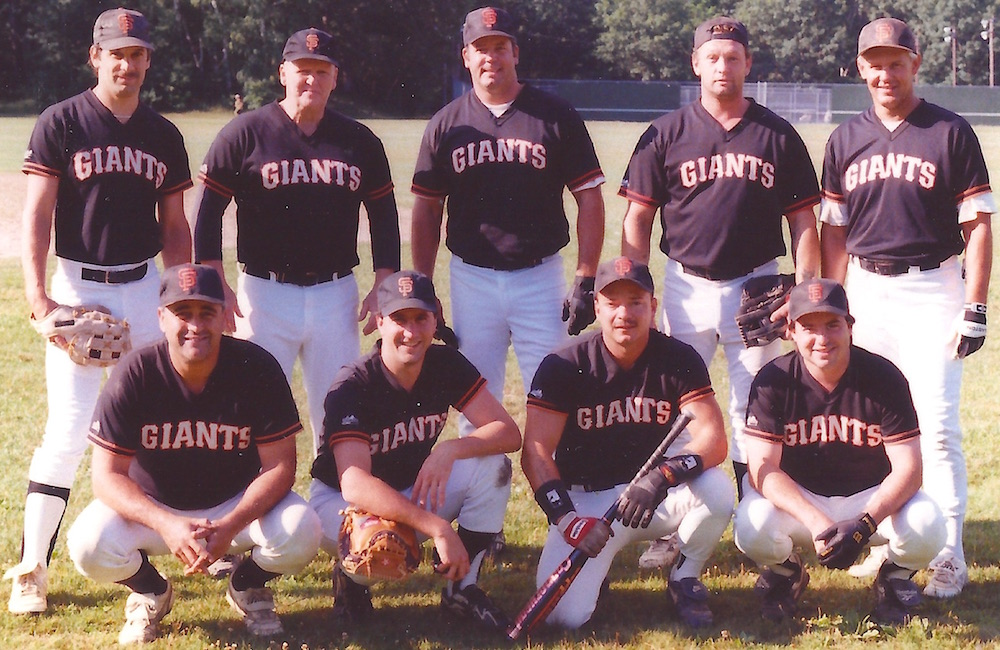 1998 Giants team picture
