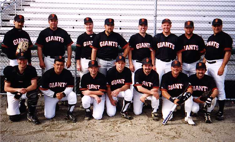 1999 Giants team picture
