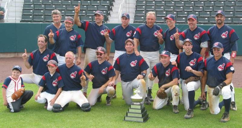 2002 Indians team picture