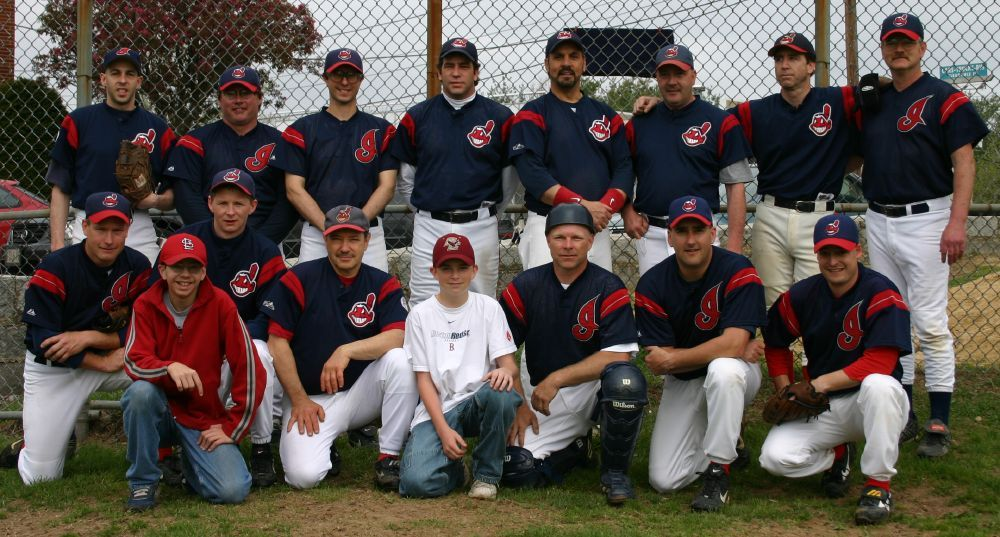 2004 Indians team picture