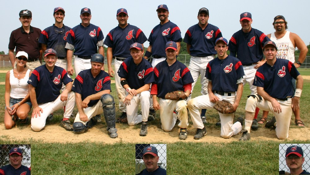 2005 Indians team picture