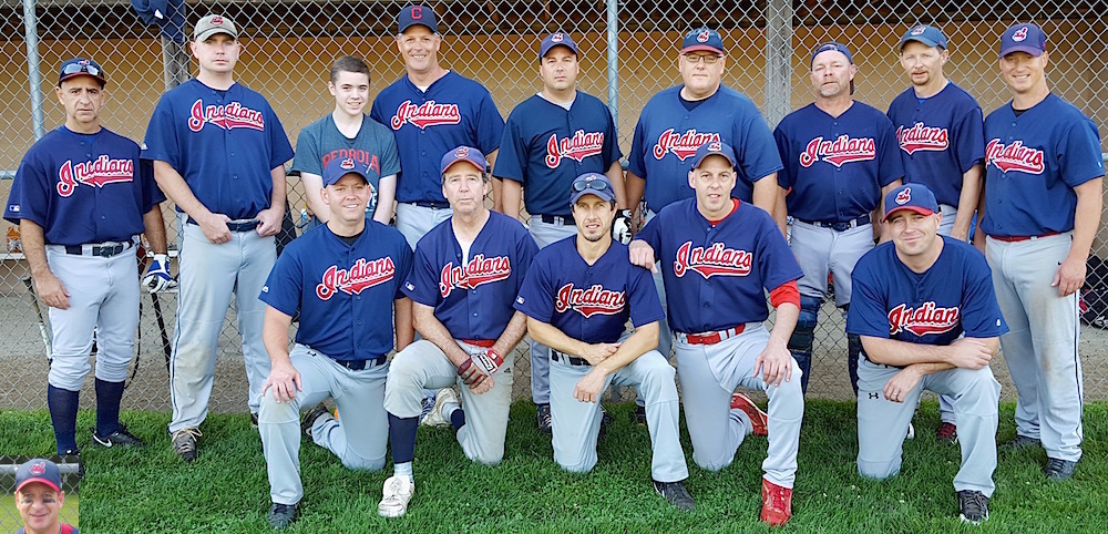 2015 Indians team picture