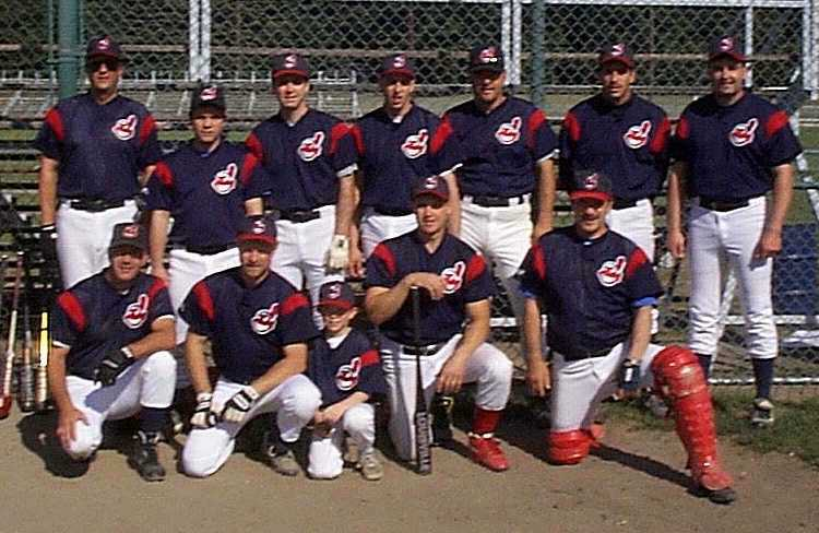 1999 Indians team picture