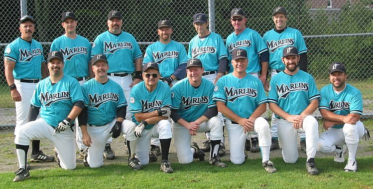 2002 Marlins team picture