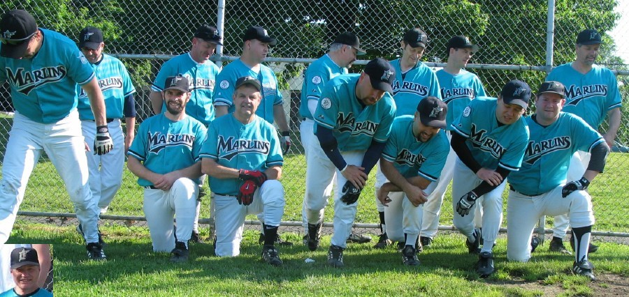 2003 Marlins team picture