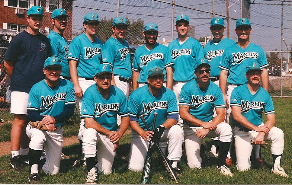 1997 Marlins team picture