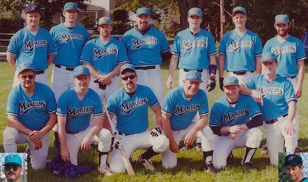 1998 Marlins team picture