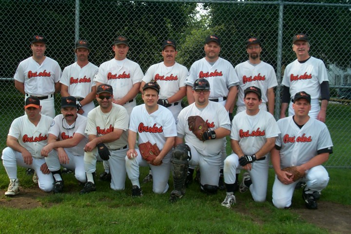 2000 Orioles team picture