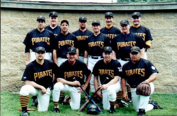 2001 Pirates team picture