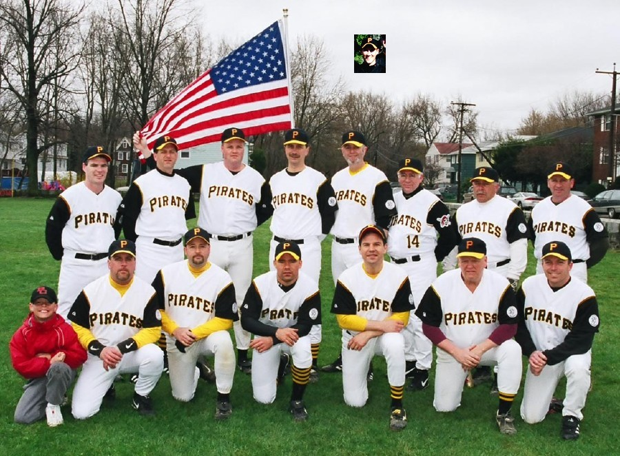 2003 Pirates team picture
