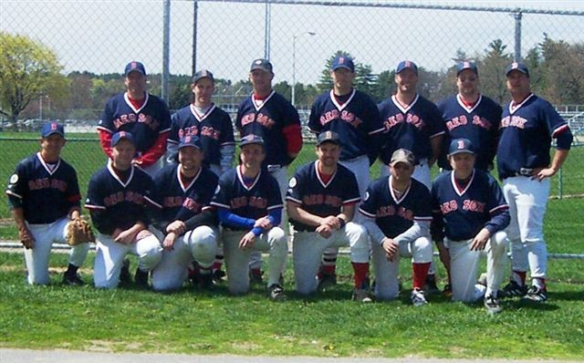 2003 Red Sox team picture
