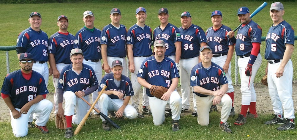 2013 Red Sox team picture
