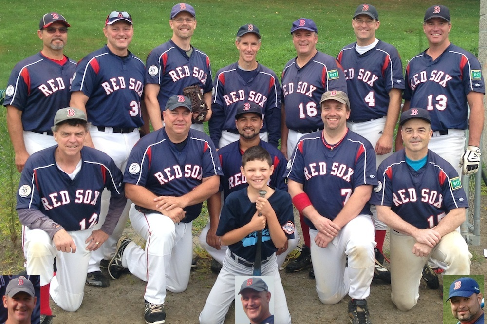 2014 Red Sox team picture