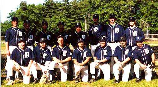 2000 Tigers team picture