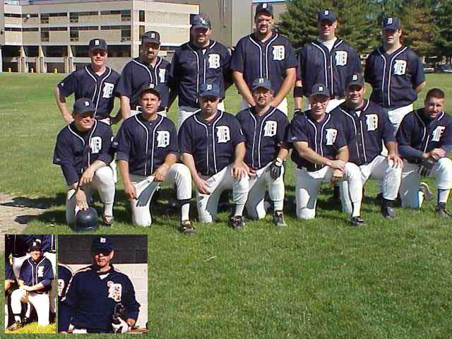 2001 Tigers team picture
