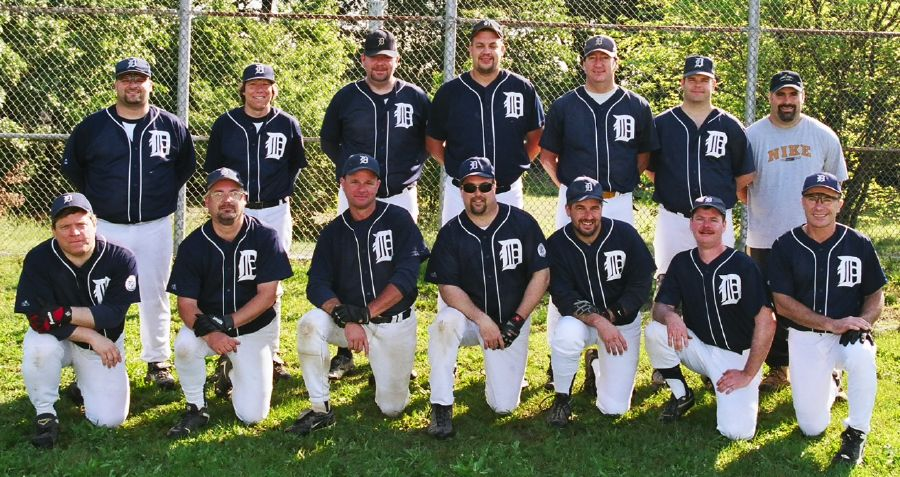 2003 Tigers team picture