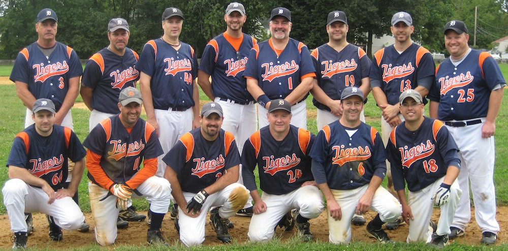 2012 Tigers team picture
