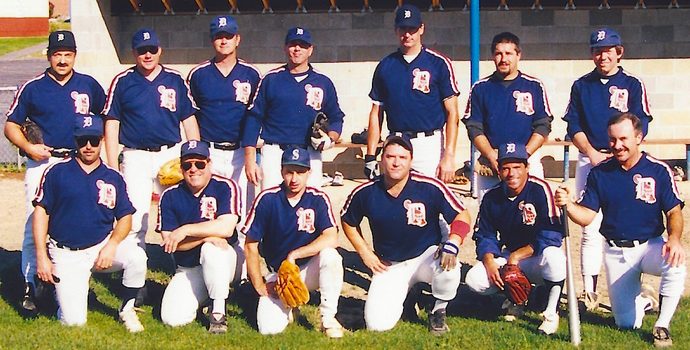 1998 Tigers team picture