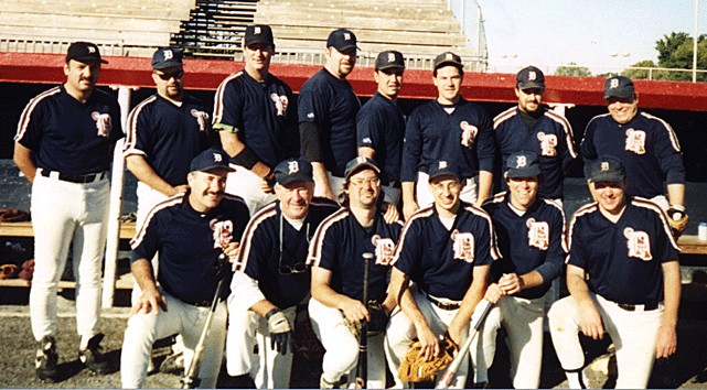 1999 Tigers team picture