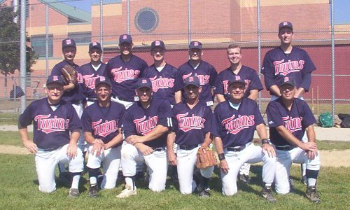 2001 Twins team picture