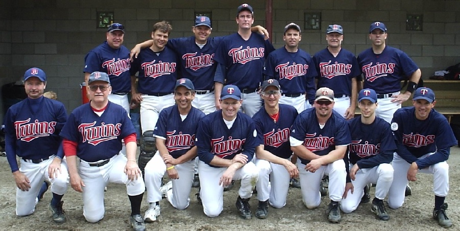 2005 Twins team picture