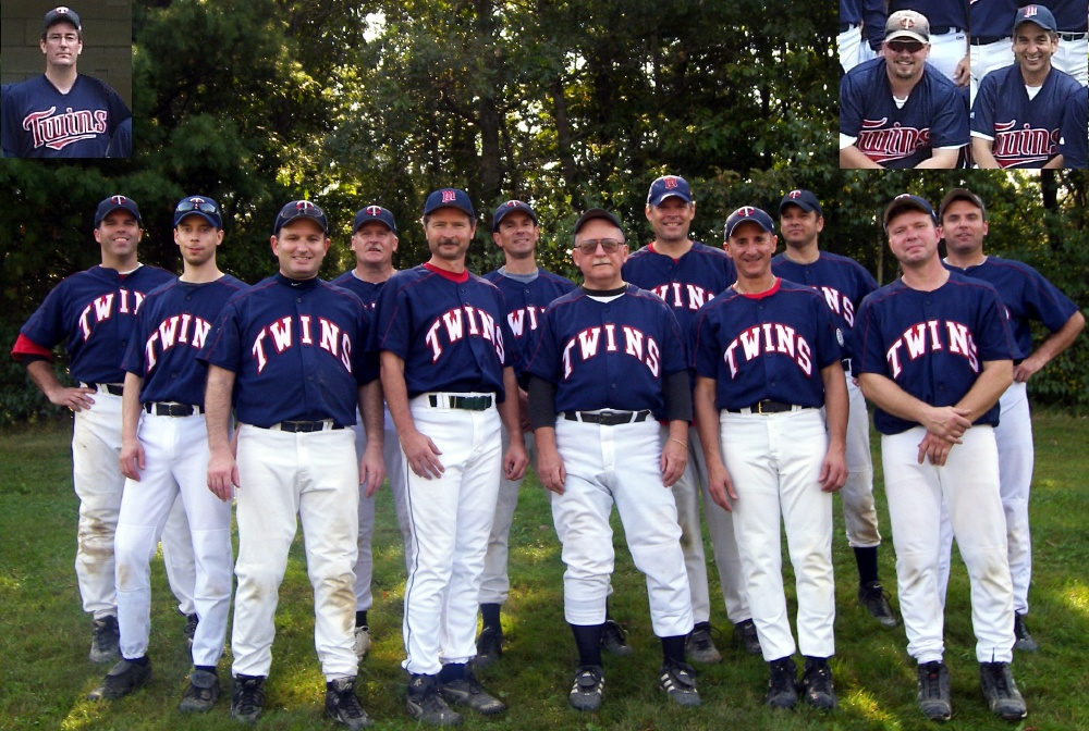 2006 Twins team picture